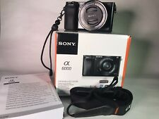 Sony a 6000 digital camera With E PZ 16-50mm F3.5-5.6 OSS Kit Lens