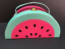 Pottery Barn Teen Watermelon Purse Storage Container Jewelry Birthday Gift New