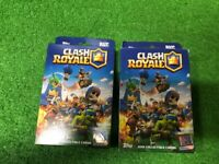 Two 2018 TOPPS CLASH ROYALE  HANGER BOXES (6 packs total) sealed..Free Shipping!