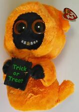 """Ty Beanie Boo's Grinner Halloween Ghost 9.25"""" Stuffed Plush Toy"""