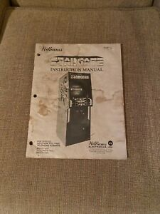 Stargate Video Arcade Game Instruction Manual, Williams 1981