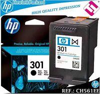 TINTA NEGRA 301 ORIGINAL IMPRESORAS HP CARTUCHO NEGRO HEWLETT PACKARD CH561EE