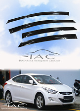 For Hyundai Elantra 11-16 Window Visor Vent Sun Shade Rain Guard Door Visor