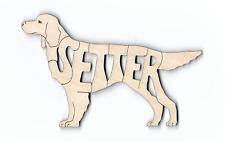 Gordon Setter Dog laser cut wood Magnet
