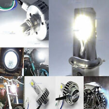 H4 H6 H7 18W 12W Cree LED Bright White Hi-Lo Beam Headlamp Light Bulb Motorcycle