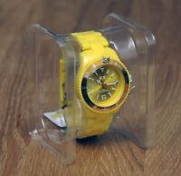 Armbanduhr Ice Watch Ice-Solid Yellow / Unisex Damen & Herren NEU OVP UVP 69,--