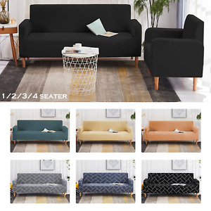Elastic Stretch Sofa Covers Slipcover Couch Protector Settee 1/2/3/4 Seater