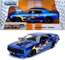 1972 Chevy Cheyenne Set di Pneumatici /& Cerchi Blu Argento 1:24 Jada Toys 99988