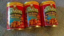 LOT OF 3 Chef Boyardee Cheesy Burger Macaroni 15 oz  NEW! FREE SHIPPING IN USA!