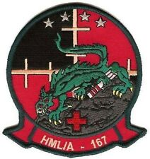 USMC HMLA-167 Light Attack Helicopter Squadron Patch