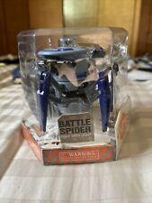 Hexbug Blue Battle Spider Micro Robotic Creature Hex Bug - 2015