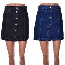 Topshop Denim Petite A-line Skirts for Women