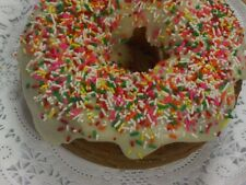 Homemade BUNDT, SHEET or DONUT Glazed CAKE * Cherry CHOCOLATE Peach APPLE Marble