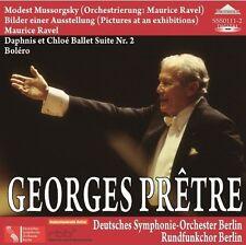 Tableaux D Une Exposition/Bolero/Da - 2 DISC SET - George Pretre (2014, CD NEUF)