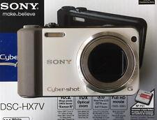 Sony Cyber-shot dsc-hx7v 16.2mp cámara digital-blanco