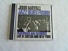 CD  JOHN MAYALL   JAZZ BLUES FUSION LIVE IN BOSTON AND NEW YORK