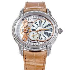 Audemars Piguet Millenary Watch 18k White Gold Manual Winding 77247BC.ZZ