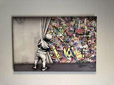 Martin Whatson Behind the Curtain Canvas Print 24