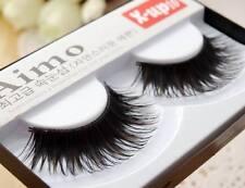 1 Pair Popular Messy Natural Thick Handmade Long False Eyelashes Eyelash Makeup