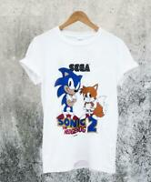 Sonic The Hedgehog 2, White Unisex Shirt, Size; S - 4 XL, Gift Ideas