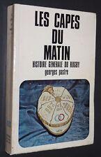 RUGBY LES CAPES DU MATIN G. PASTRE HISTOIREDU XV DE FRANCE 1906-1953 TOURNOI V