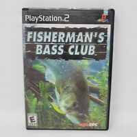 Fisherman's Bass Club (Sony PlayStation 2 PS2, 2003) Complete Tested Works CIB