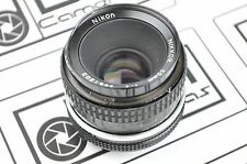 Nikon 50mm F/2 AI-S Lens small dents on filter ring fully functional EH1245