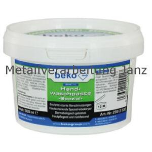 Beko Handwaschpaste spezial, Inhalt: 500ml - 1 Stück