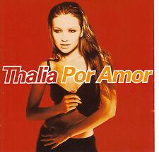 THALIA POR AMOR - AMOR A LA MEXICANA - CD 12T RARE 1997