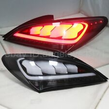 Full LED rear lights For Hyundai For Genesis Coupe 2009-2011 year Clear lens JY