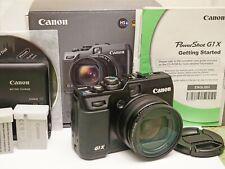 Canon Powershot G1X 14.3MP Digital Camera~Large 1.5 CMOS Sensor 28-112mm Lens