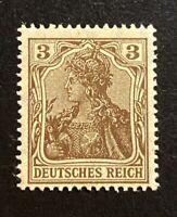 Dt. Reich GERMANIA Mi. 84 II b postfrisch/** MNH geprüft Jäschke