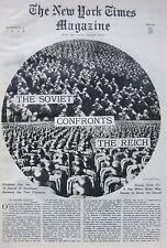 82 Reich Soviet Harry Bridges Madrid Goya Washington Prohibition 1936 October 25