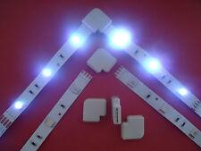 8 X Eckverbinder für RGB SMD LED Stripe Streifen Schnellverbinder L-verbinder