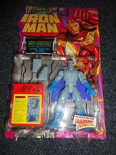 1994 TOY BIZ MARVEL IRON MAN GREY GARGOYLE Stone Hurling MOC Figure Avengers