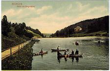 Boating in Reinerz/Duszniki-Zdroj, Poland, 1910s