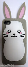 Rabbit Cover Soft Case Protector Skin Apple iPhone 4 iPhone 4S