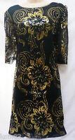 BNWT NEXT new RRP65  GERI Ladies Black sequins ocassion  PARTY dress Sizes