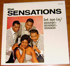 THE SENSATIONS -Let me in/ Music, Music, Music -Best of