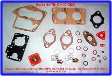 Solex 34 TBIA, 35 CEEI, Vergaser Rep.Kit, Peugeot 604, Renault R 30, Alpine