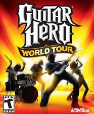 Guitar Hero World Tour PC Games Windows 10 8 7 XP Computer music rock band NEW