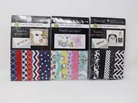 "Fabric Expressions 6 Sheet Iron-On Fusible Fabric Sheets - 8"" x 9"" Each - New"