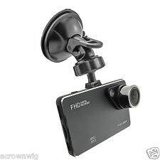 "Slim HD 1080P Car Audio Video Recorder Camera DVR 2.7"" Screen Night Vision Black"