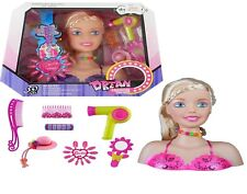 Dream Fashion Glamour Hair Styling Head New Series Playset Doll Gift Assorted
