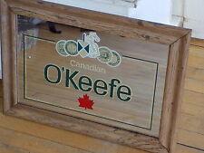 """O'Keefe Canadian Beer Mirror Oak? 15""""x21""""  LOOK!"""