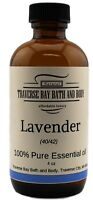 Lavender 40/42 Essential Oil 4 oz, 100% pure, Uncut. Soap making. Aromatherapy.