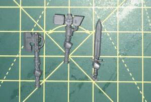 Devastator Squad Sergeant Weapons Bits Warhammer 40k Space Marines