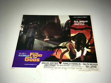 Food Of The Gods Movie Lobby Card Poster Aip Hg Wells Sci-Fi Horror Giant Rat