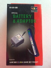 Battery & Adapter - Y2K Game Boy Color