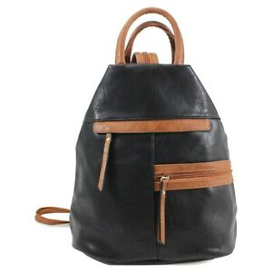 DESIGNER MADE SOFT FAUX LEATHER MULTI COMPARTMENT BACKPACK/RUCKSACK ANTI THEFT